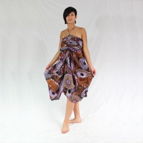 robe inde coton