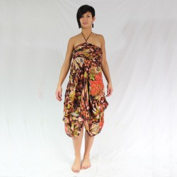 robe imprimée coton