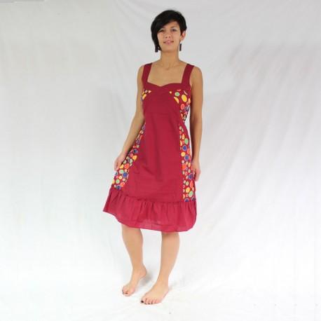 robe coton inde