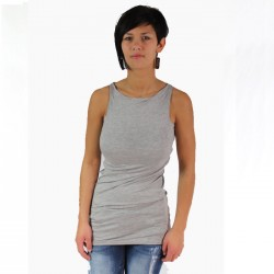 Top été, Viscose Gris