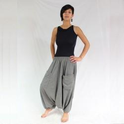 Pantalon Sarouel Gris