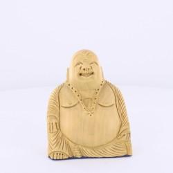 Statue indienne Bouddha Rieur 8cm