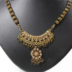 Long Collier indien artisanal Bollywood