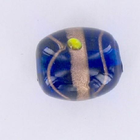 perle olive Inde bleue