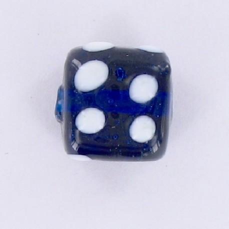 perle cube bleu Inde
