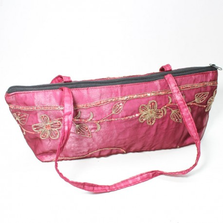 sac de soirée indien satin