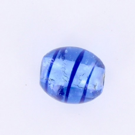 perle indienne olive bleu