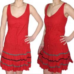 Robe légere en coton indien