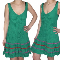 Robe courte lègere coton
