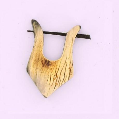 piercing en bois
