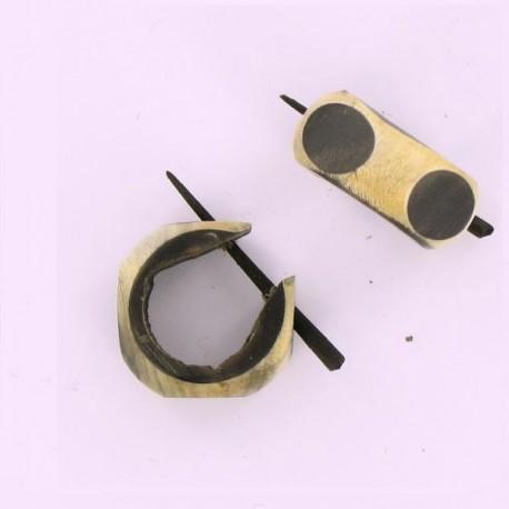 piercing indien en bois