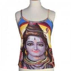 Tee shirt Shiva court Jaune
