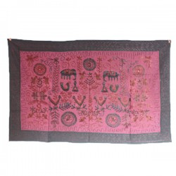 Broderie indienne rectangle Huma