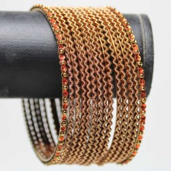 14 Bracelets Traditionnels - Adulte 7 cm