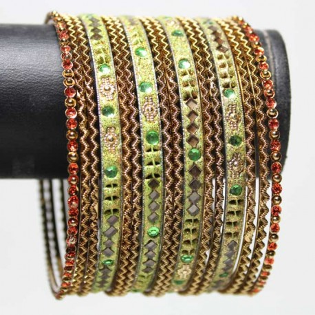 16 Bracelets Traditionnels - Adulte 7 cm
