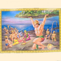 poster Hanuman Sri Lanka