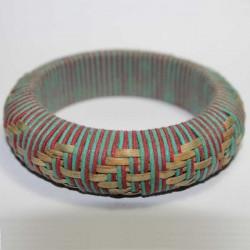 Bracelet indien Paille & Coton
