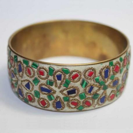 Bracelet Cuivre & Eclats de pierres