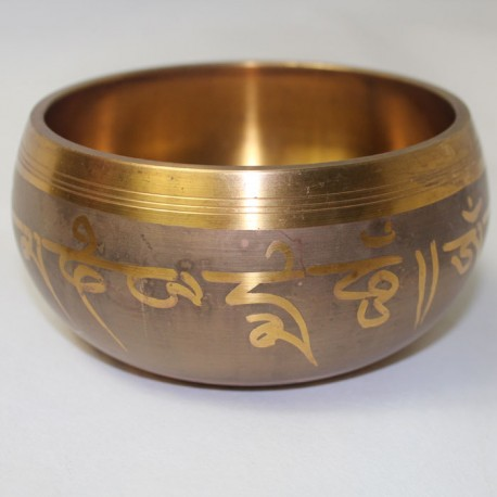 Bol Chantant Tibétain 670 Grs