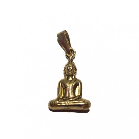 Pendentif doré Bouddha