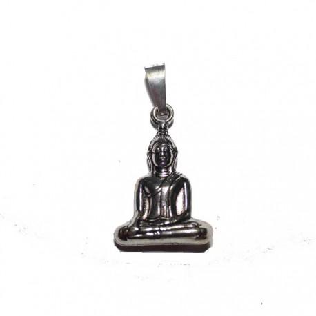 Pendentif argenté Bouddha
