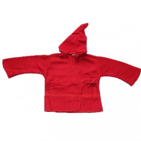 Top Lutin Polaire Enfant Rouge