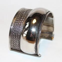 Bracelet indien Métal Argenté