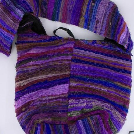 sac à main coton recyclé Inde