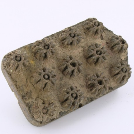 tampon textile ancien
