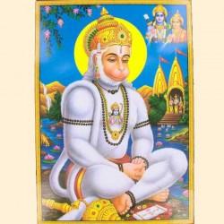 "Poster Indien ""Hanuman"""