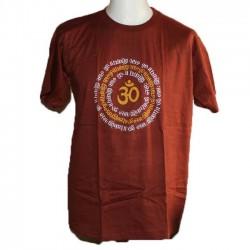 "TShirt coton indien ""Aum Mantra"""