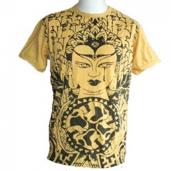 "T-Shirt Homme ""Bouddha"" Taille M"