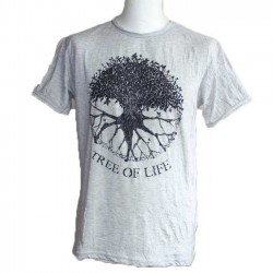 "T-Shirt Homme Coton ""Tree Of Life"" Taille M"