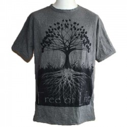 "T-Shirt XL Homme Coton ""Tree Of Life"""