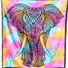Tenture Elephant Tie and Die