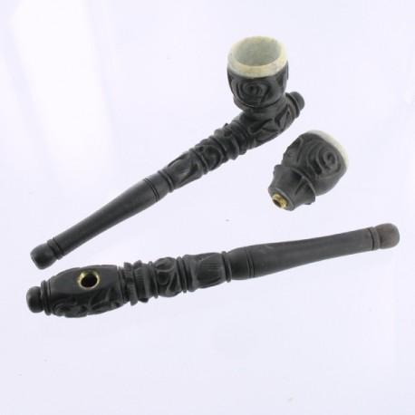 pipe en bois 15.5 cm