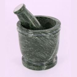 Mortier haut et Pilon en marbre