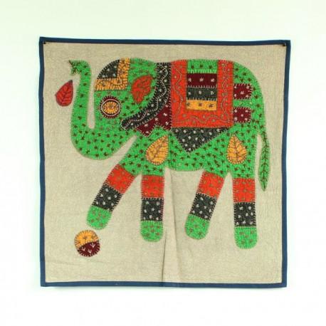 housse de coussin éléphant