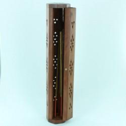 porte encens en bois ajouré