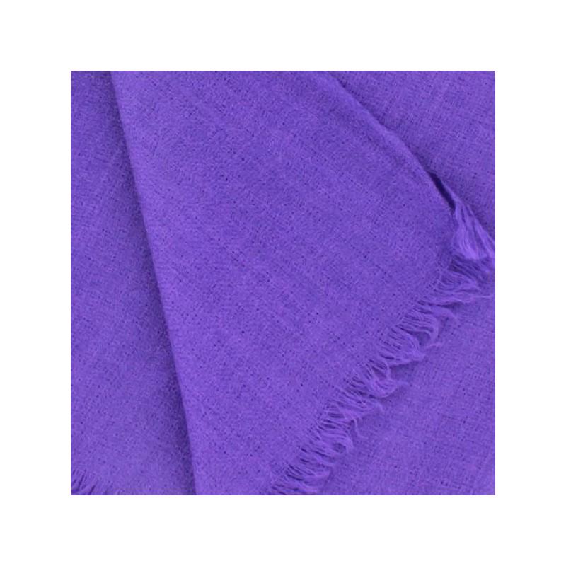 add741145234 Châle - Echarpe Pashmina du Cachemire Violet - Boutique Indienne