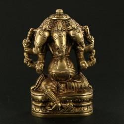 Statue Indienne Ganesh 3 têtes