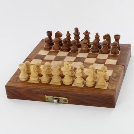 jeu d'echec indien en bois