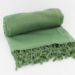 Châle Indien Viscose Vert