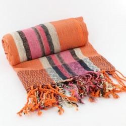 Fichu Indien Coton Multicolor