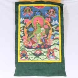 Peinture Tangka Bouddhisme Tibet