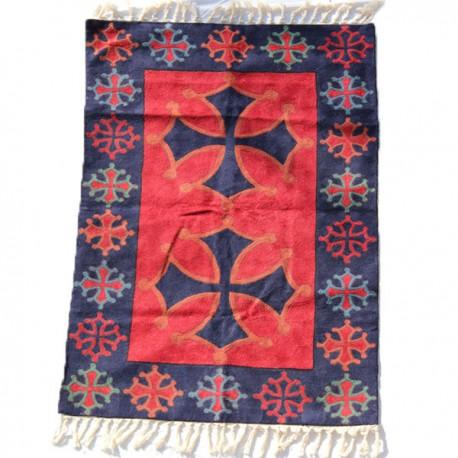 tapis laine artisanal Inde
