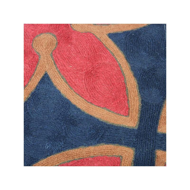 tapis indien en laine croix occitane boutique indienne. Black Bedroom Furniture Sets. Home Design Ideas