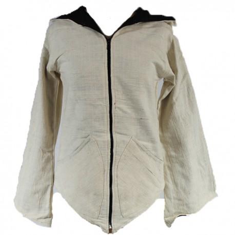 veste capuche pointue