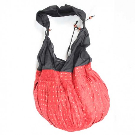 sac satin rouge Inde