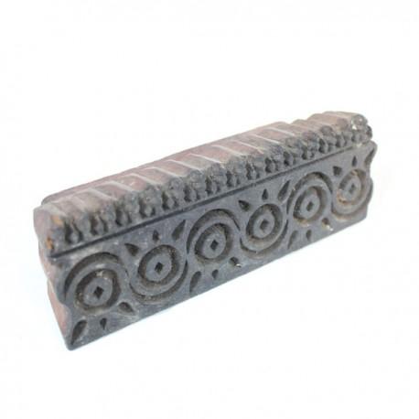 tampon textile en bois